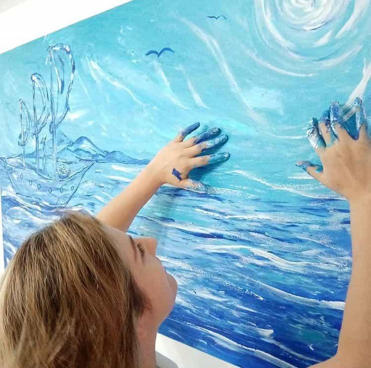 El arte es el espacio donde el alma se recrea
